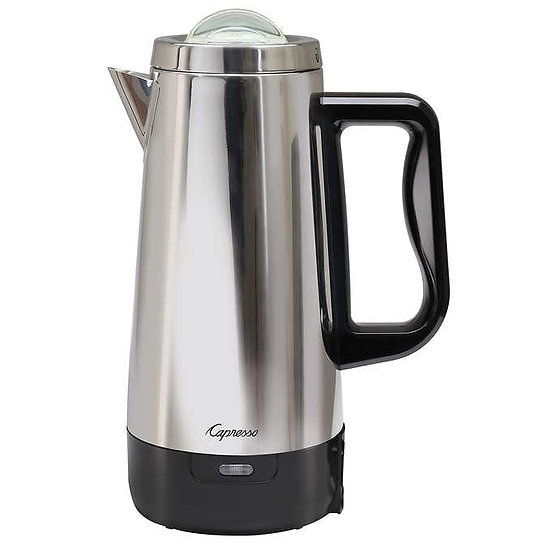 Capresso 12-cup Stainless Steel Percolator