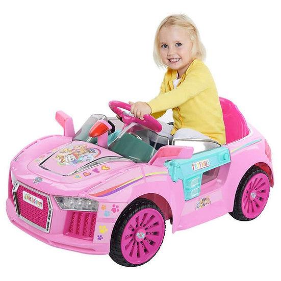 Paw Patrol E-Cruiser Ride-On Car, Pink