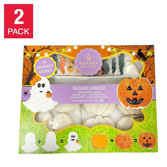 Bakery Bling Halloween Cookie Decorating Kit 2-pack