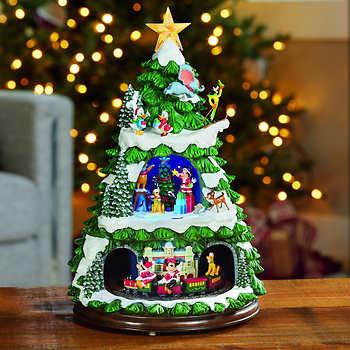 Animated Disney Holiday Tree with Music,Christmas