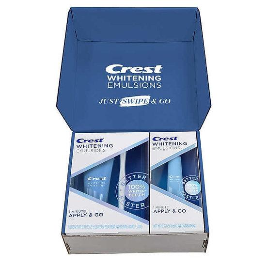 Crest Whitening Emulsions Leave-on Teeth Whitening Set