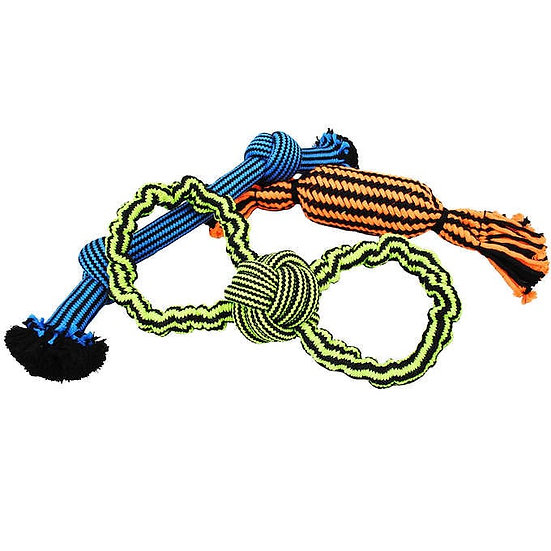 Jolly Pets Durable Dog Toy Combo, 3-pack