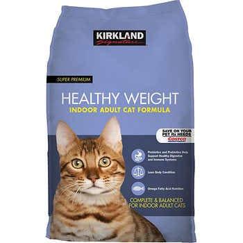 Kirkland Signature Healthy Weight Cat Food 20 lbs.