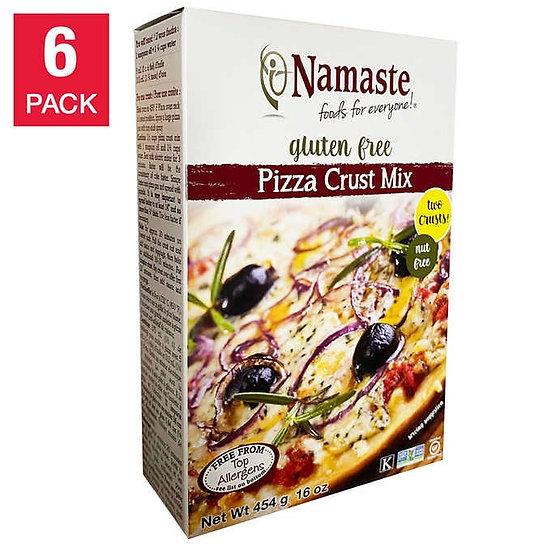 Namaste Foods Gluten Free Pizza Crust Mix 16 oz 6-pack
