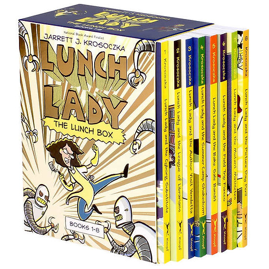 Lunch Lady: The Lunch Box 8-Book Boxed Set