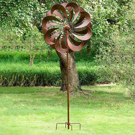 """Stylecraft 44"""" Flower Wind Spinner"""