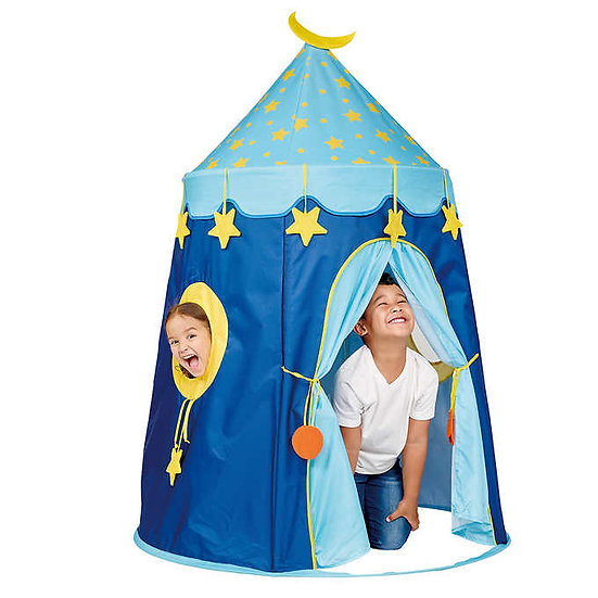 J'Adore Pop Up Tent Moon and Stars