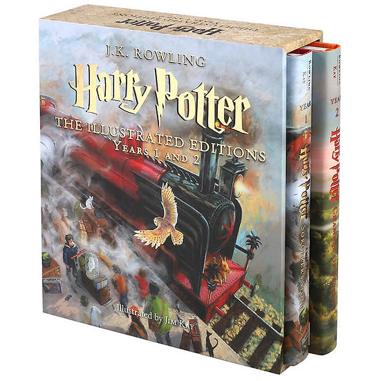 Harry Potter: The Illustrated Editions Years 1 And 2