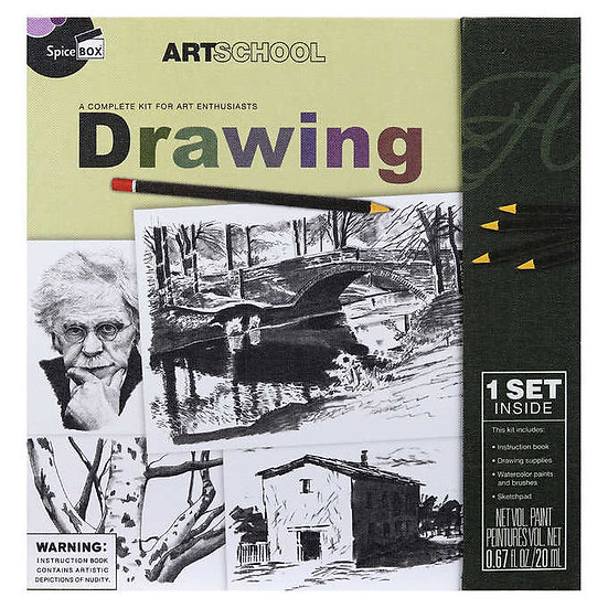Art School Creative Drawing Styles and Techniques