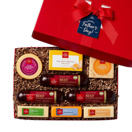 Hickory Farms Father's Day Meat and Cheese Box