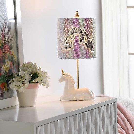 Unicorn Figurine Table Lamp