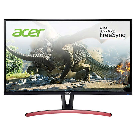 "Acer 27"" Class Curved WQHD FreeSync Gaming Monitor, Model  ED273UR"