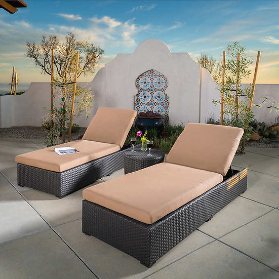Endura 3-piece Chaise Lounge Set