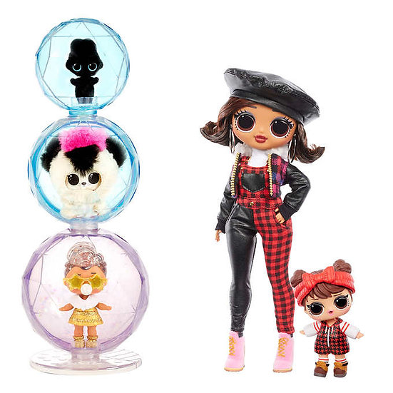L.O.L. Surprise! O.M.G. Winter Chill Fashion Doll Bundle - Camp Cutie
