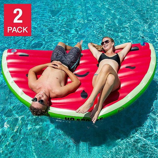 Watermelon Pool Float 2-pack