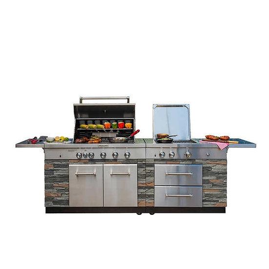 KitchenAid Stone Island 9-Burner Grill, Model  860-0003C