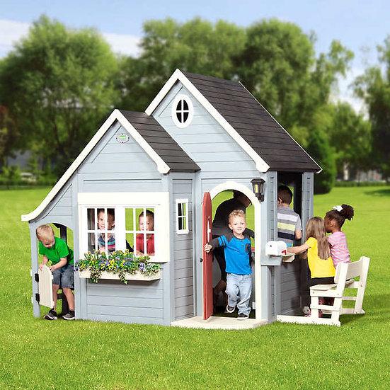 Backyard Discovery Spring Cottage Cedar Playhouse