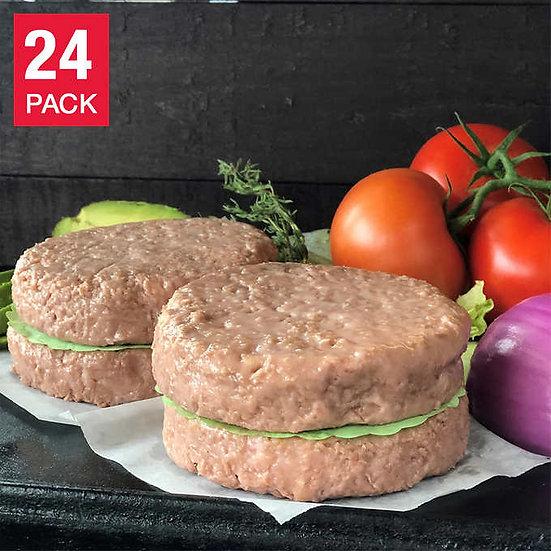 Rastelli VBites Plant-Based Vegan Meat Substitute Mega Burger 6 oz each, 24-pack