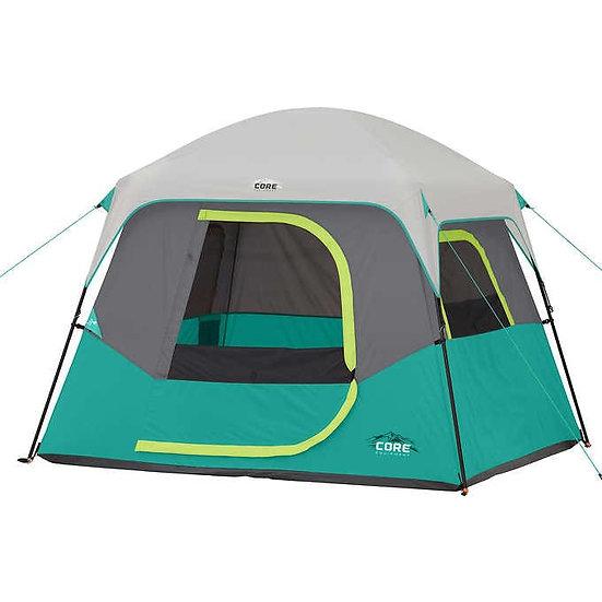 CORE 4-Person Straight Wall Cabin Tent