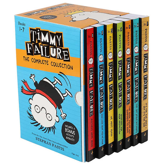 Timmy Failure: The Complete 7 Book Collection