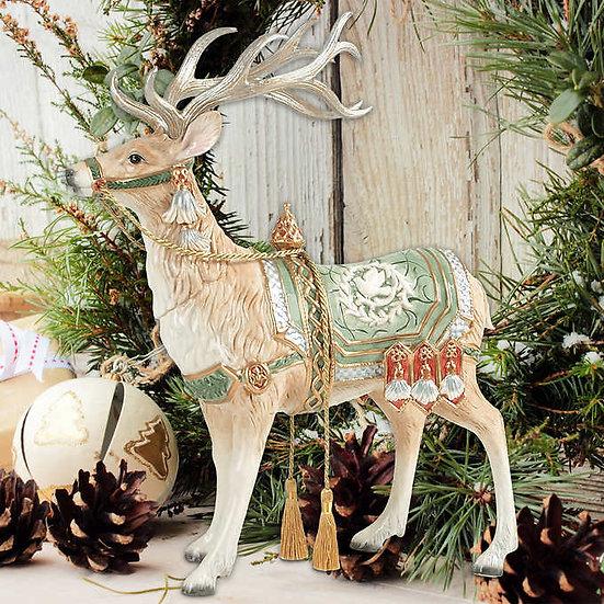 Fitz and Floyd Gregorian Deer Figurine