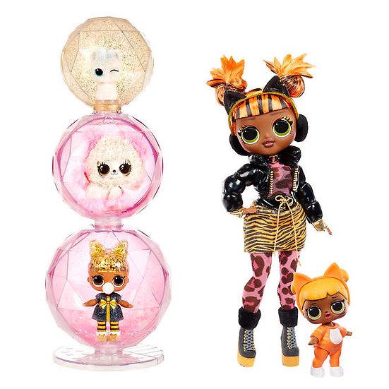 L.O.L. Surprise! O.M.G. Winter Chill Fashion Doll Bundle - Missy Meow