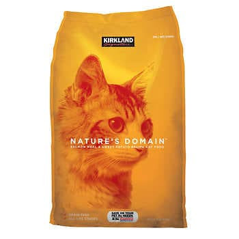 Kirkland Signature Nature's Domain Cat Food 18 lbs.