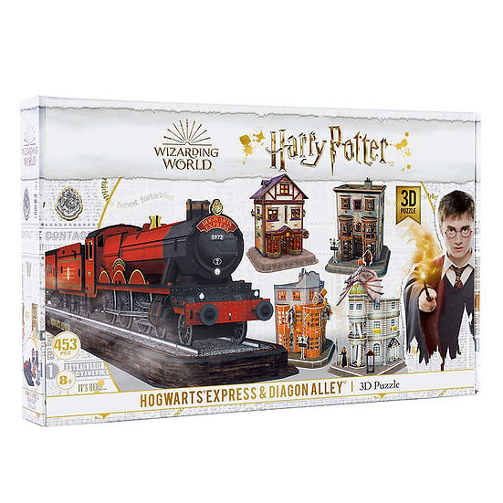 Harry Potter Hogwarts Express and Diagon Alley 3D Puzzle