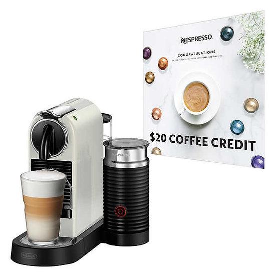 Nespresso CitiZ&Milk Espresso Machine by De'Longhi