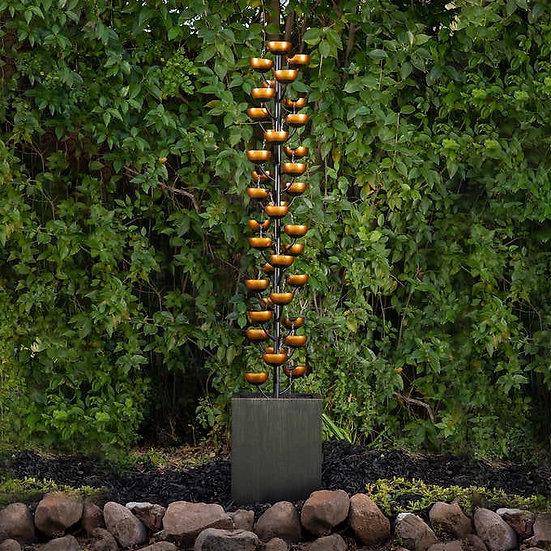 "73"" Grand Bloomington Cascading Cup Fountain"