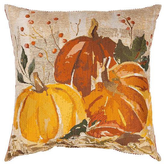 Pumpkin Harvest Decorative Pillow