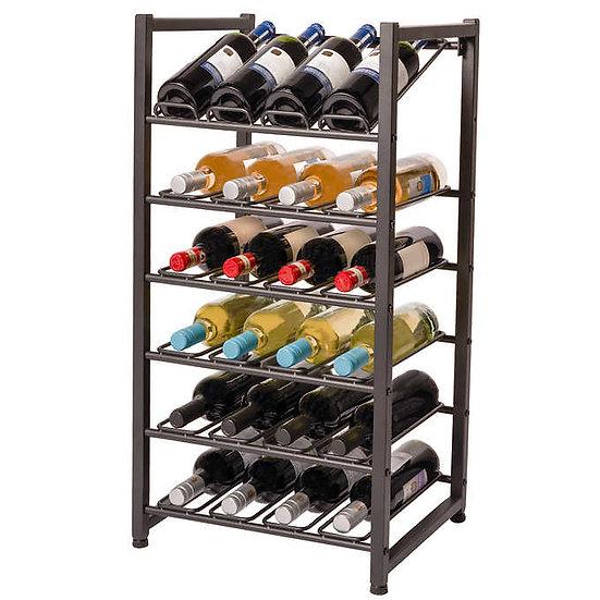 Neatfreak 24 Bottle Stacking Metal Wine Rack