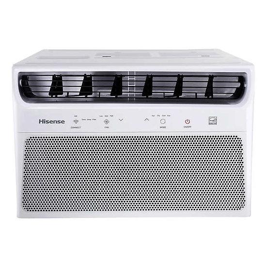 Hisense Window Air Conditioner with WIFI, 8,000 BTU, 350-Sq.Ft