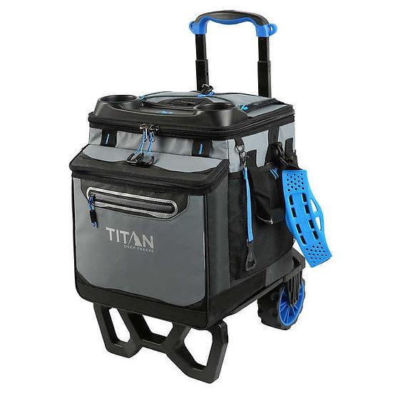 Titan Deep Freeze 60 Rolling Collapsible Cooler
