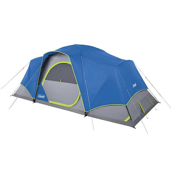Coleman 10-Person Tent Modified with Lighting