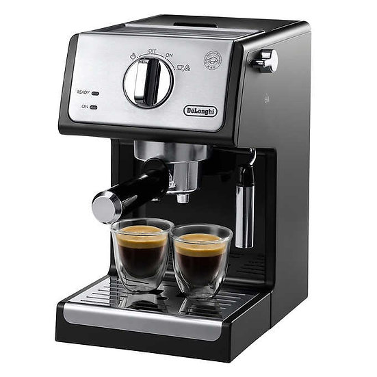 De'Longhi Manual Espresso and Cappuccino Machine with Cappuccino System