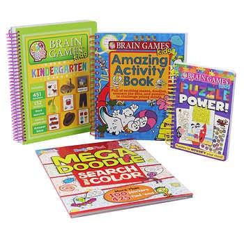 Brain Games: 4 Book Bundle