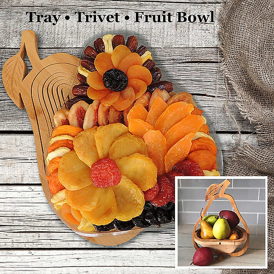 Vacaville Dried Mixed Fruit, 34 oz Gift Basket