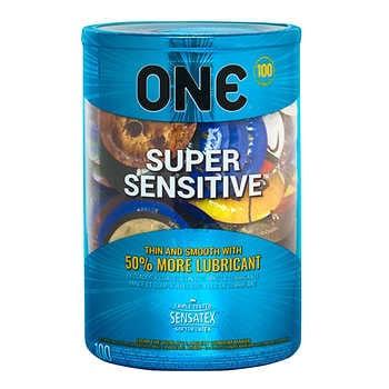 ONE Super Sensitive, 100 Condoms