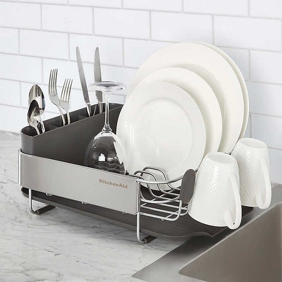 KitchenAid Stainless Steel Compact Dish-Drying Rack