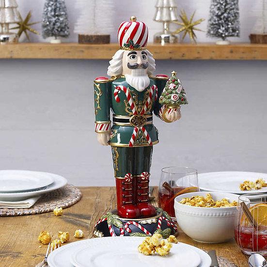 Fitz and Floyd Nutcracker Sugarplum King Figurine, Christmas