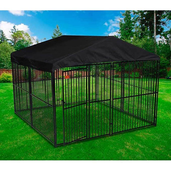 Lucky Dog European Style Kennel with Cover and Frame