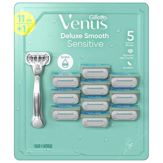 Gillette Venus Deluxe Smooth Razor 11-count
