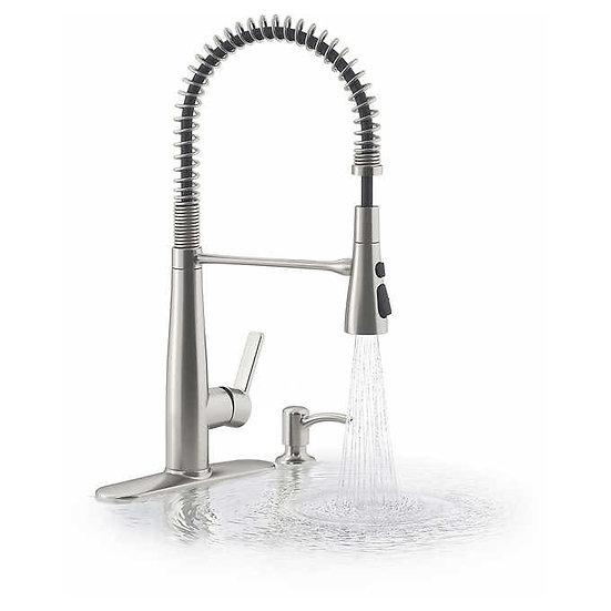 Kohler Semi-Professional Kitchen Faucet with Soap Dispenser