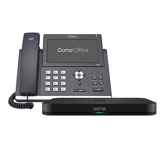 Ooma Office Touch Screen Phone & Fax Duo