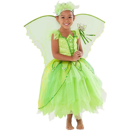 Teetot Butterfly Princess Green Fairy Child Dress Up