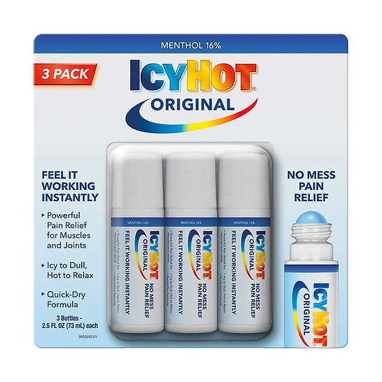 IcyHot No Mess Roll On, 7.5 Ounces