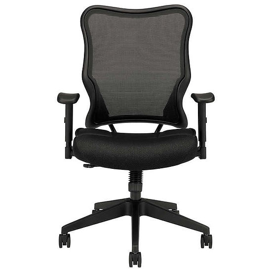 HON Black Mesh Swivel High-Back Chair
