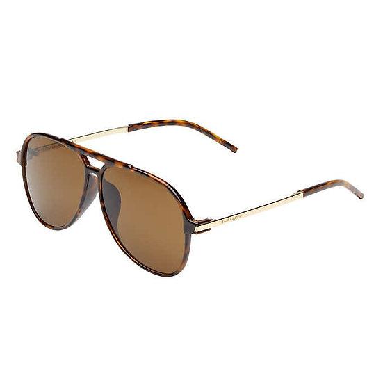 Saint Laurent SL228 Shiny Dark Havana Sunglasses, Men's