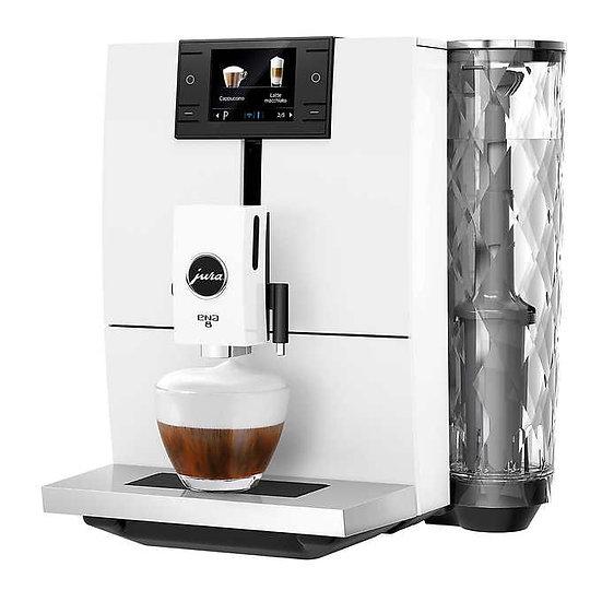 JURA ENA8 Full Nordic White Espresso Machine